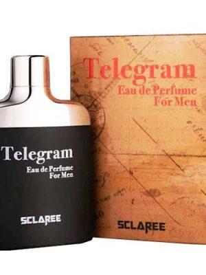 ادکلن تلگرام مشکی اسکلاره